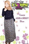 Clover Clothing Gamis Abira Rossy - Bluec